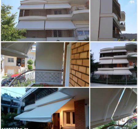 Τέντες Tentoplan - Σκίαση - Πέργκολες - Ζελατίνες - Σήτες - Στόρια